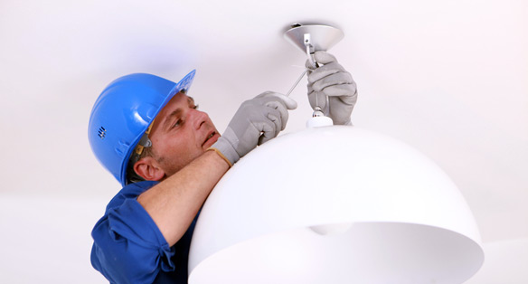 Lighting Repair & Installation | A&B Plumbing, Heating ...